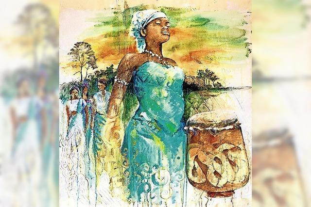 Feiern und beten für Frauen in Surinam