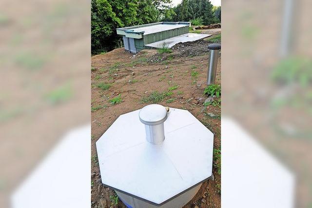 Hochbehälter fürs Löschwasser