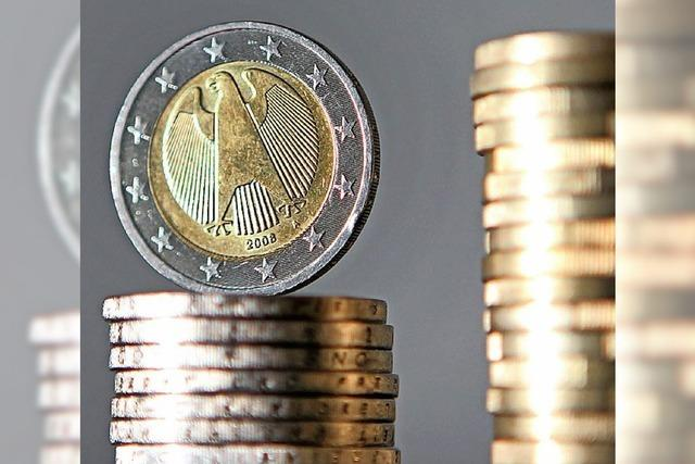 Entwicklung des Haushalts verlief