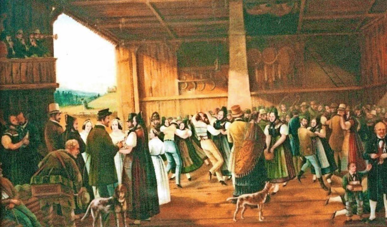 Eine Schwarzwälder Hochzeit (nicht signiert)  | Foto: privat