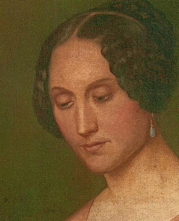 Magdalena Ganter, geborene Scherzinger – gemalt von Dionys Ganter  | Foto: privat