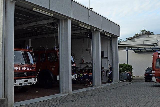Planen fürs neue Feuerwehrhaus
