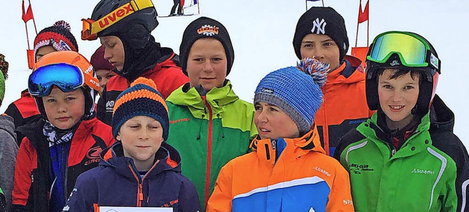 Das erfolgreiche Skiteam der Fürstabt-Gerbert-Schule.  | Foto: Rainer Böhler