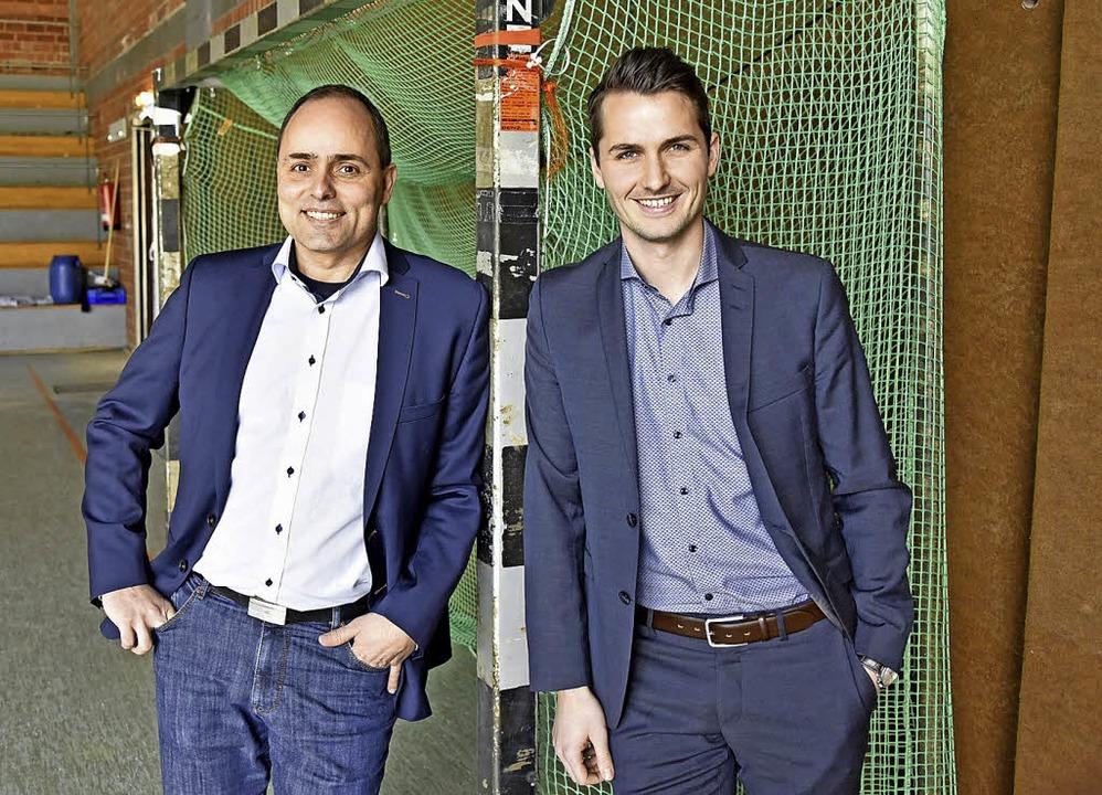 Thomas Fischer (links) und Peter Gerspach   | Foto: Michael Bamberger