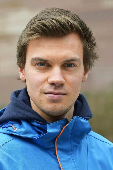 """Christian Fliß, 22, Geographie / Sport...iv und tun unsere Meinung kund.""""    Foto: Ingo Schneider"""