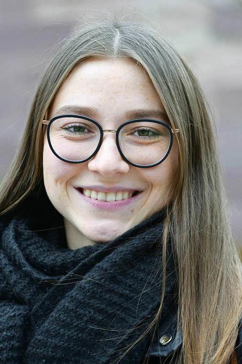 """Romy Neumann, 21, Tanzausbildung: &#82...it ist das Wichtigste im Leben.""""    Foto: Ingo Schneider"""