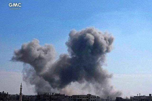 In Syrien finden derzeit fünf militärische Konflikte gleichzeitig statt