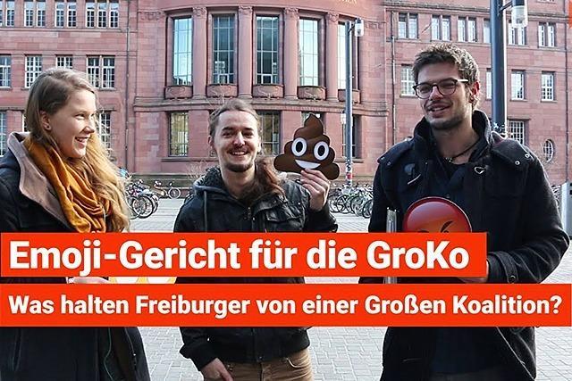 Emoji-Umfrage zur GroKo