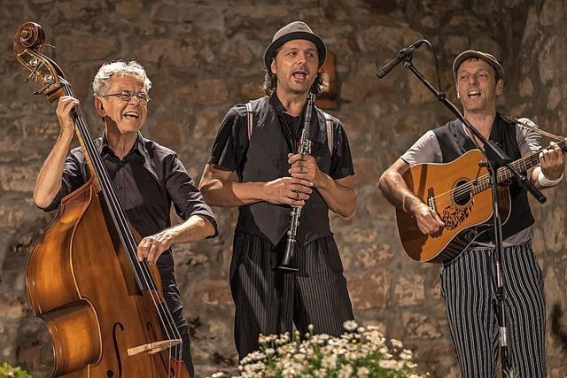 Chotsch mit Klezmer und jiddischer Musik in Rheinfelden-Karsau