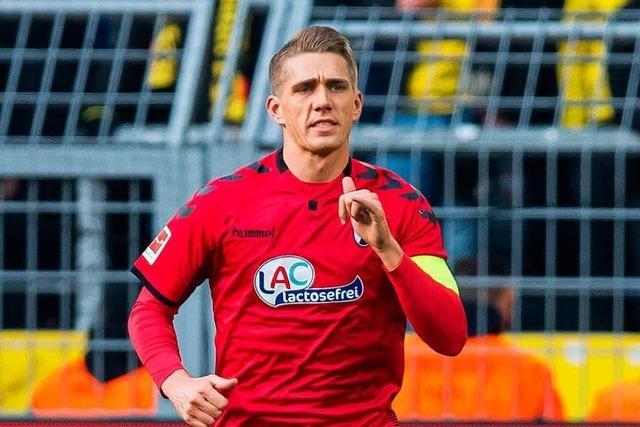 Stürmer Nils Petersen verlängert beim Sportclub Freiburg