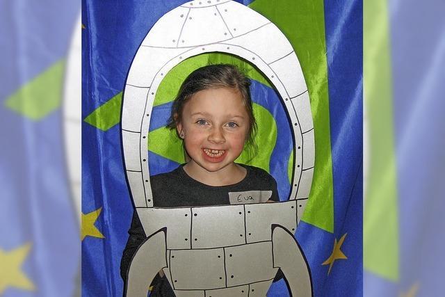 Kinder erforschen das Weltall