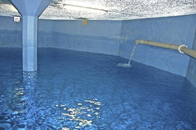 1,15 Millionen Kubikmeter Trinkwasser