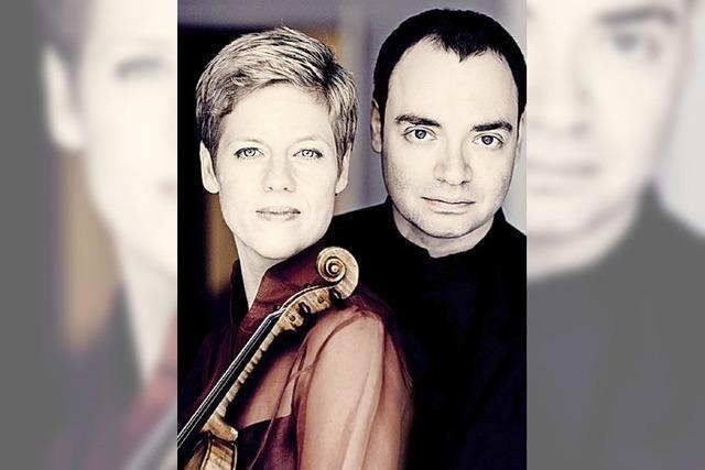 Isabelle Faust und Alexander Melnikov geben Konzert mit Brahms-Violinsonaten im Burghof in Lörrach