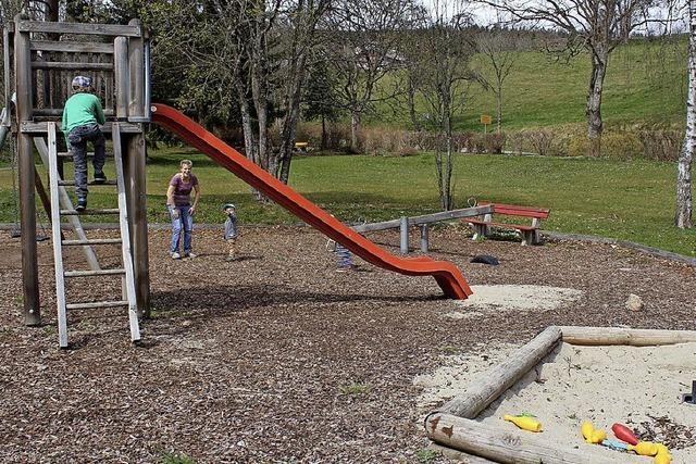 Eine Klettermühle soll den neuen Kinderspielplatz Kappel krönen