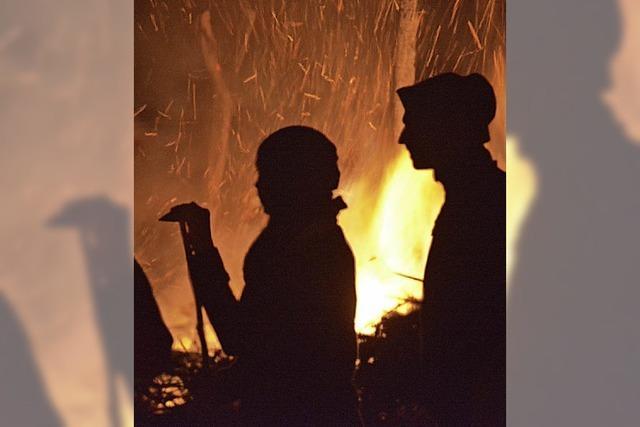 Fasnachtsfeuer am Samstag