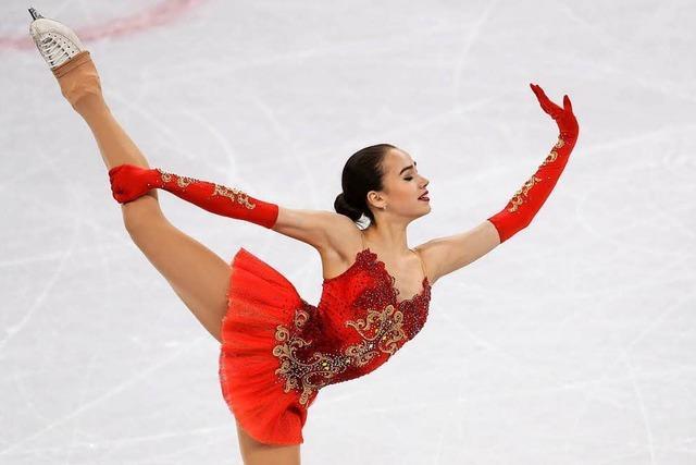 Eiskunstläuferin Sagitowa holt erstes russisches Gold in Pyeongchang
