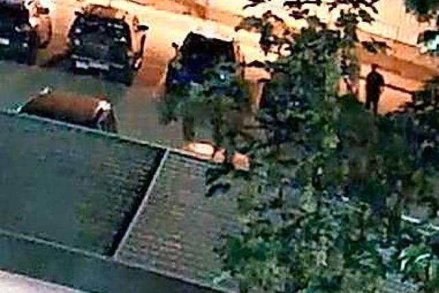 Polizei sucht jetzt mit Video und Fotos nach dem Auto-Brandstifter in der Ortenau