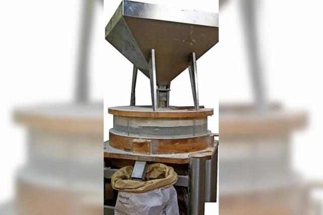 Eine moderne Bäckerei