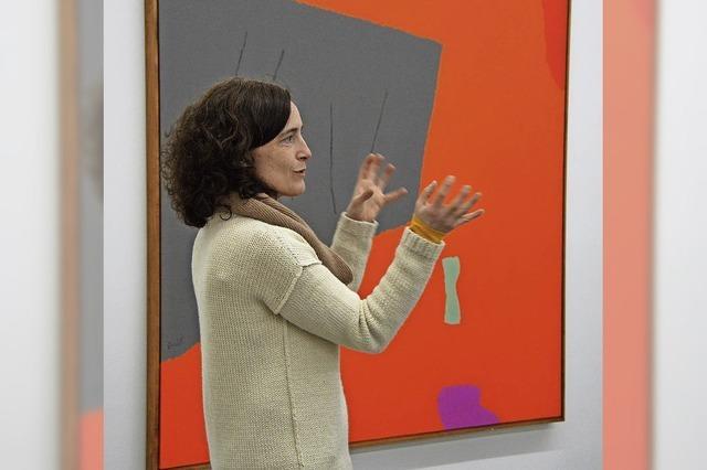 """Kurzführung """"colorful - farbenfroh – Im Fokus: Dorothy Fratt und Austausch in Donaueschingen"""