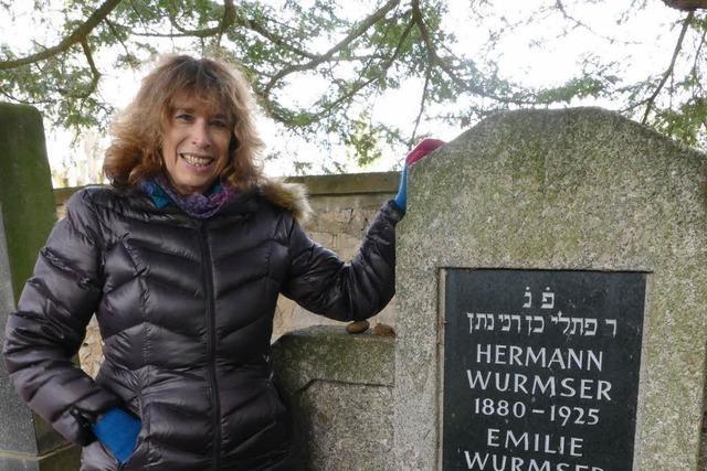 Elaine Wolff aus New York besucht regelmäßig das Blaue Haus