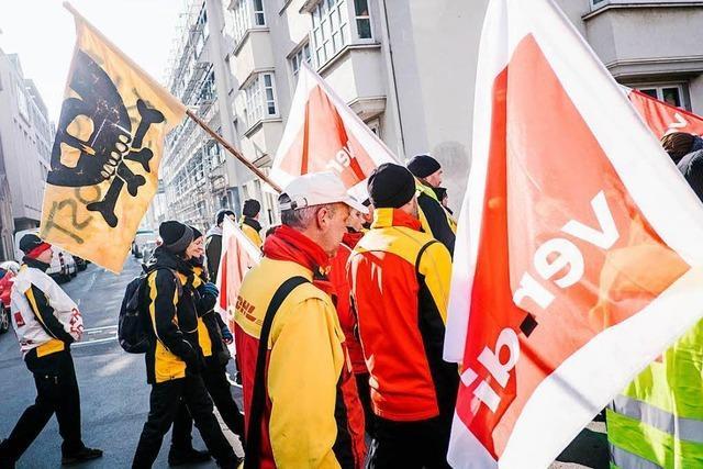 120.000 Briefe nach Poststreik in Südbaden liegen geblieben