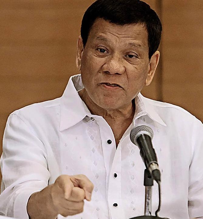 Rodrigo Duterte  | Foto: AFP