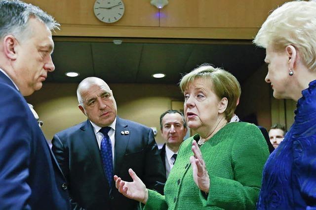 Merkel erhöht den Druck