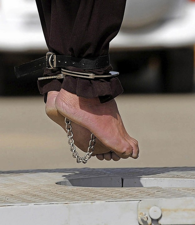 Hinrichtungen durch Erhängen sind im Iran keine Seltenheit.   | Foto:  DPA