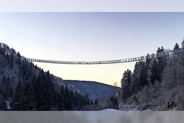 Rennen um Rekord-Hängebrücke