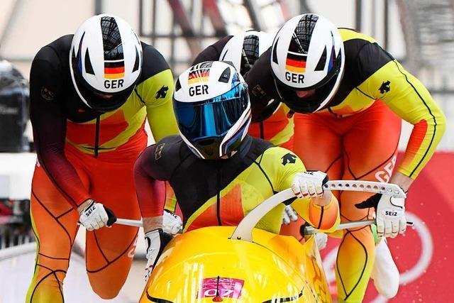 Bob-Pilot Francesco Friedrich holt Gold-Double