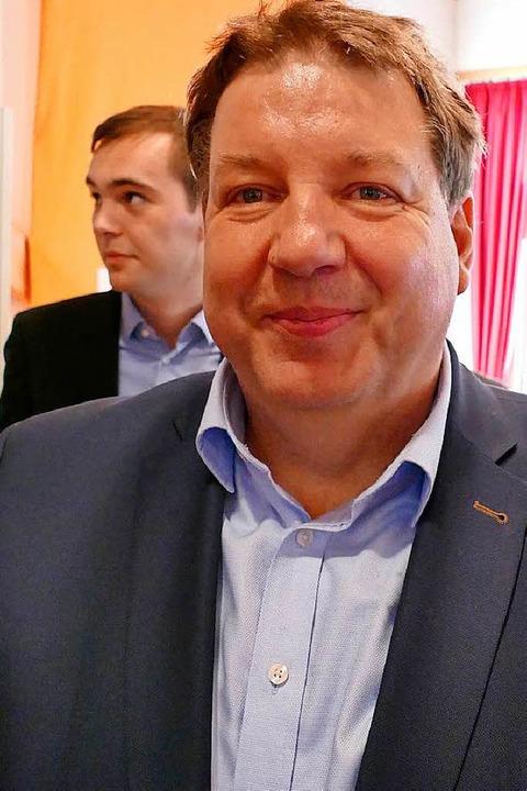 Jürgen Rausch, neuer Vorsitzender des CDU-Kreisverbands    Foto: Michael Baas