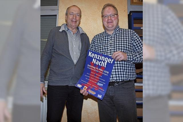 """Stadtkapelle lädt auf 10. März zur """"Kenzinger Nacht"""" in die Üsenberghalle ein"""