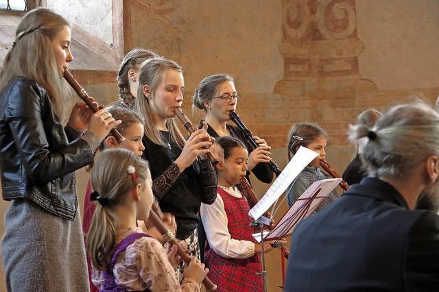 Flötenkunst zieht alle Register