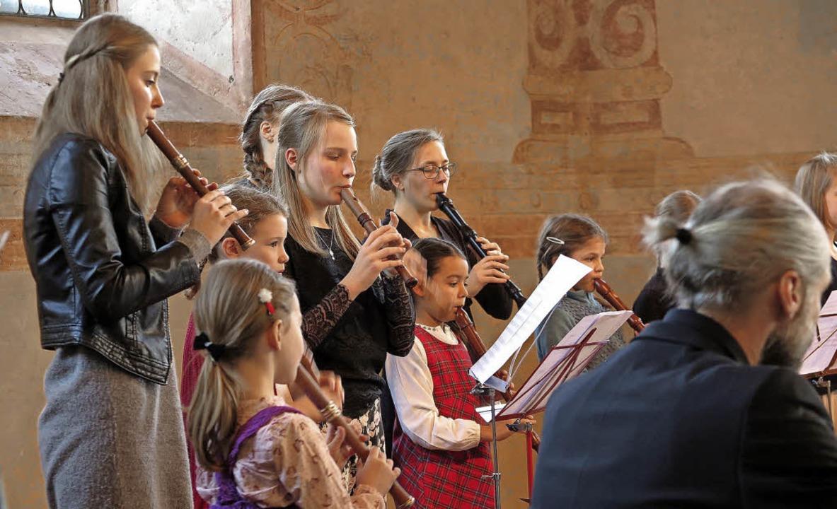 Harmonie in Klang und Rhythmus: Flöten...insam mit dem Flauto-Consort Freiburg.  | Foto: Dorothee Philipp