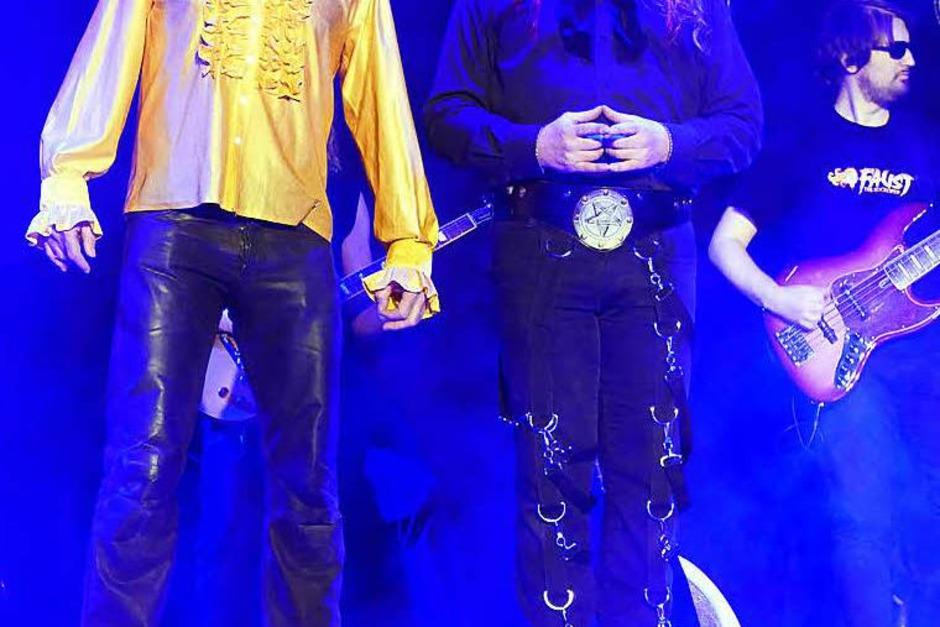 Faust und Mephisto im Duett (Foto: Silke Hartenstein)