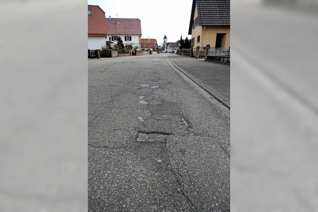 Eine teure Straßensanierung
