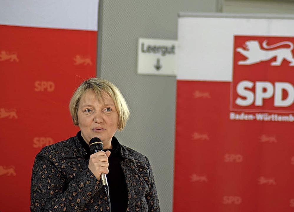 Die aus Offenburg stammende Bundestags... könne für die SPD keine Option sein.   | Foto: Julia trauden