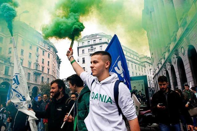 Vor der Parlamentswahl in Italien eskaliert die Gewalt in Italien
