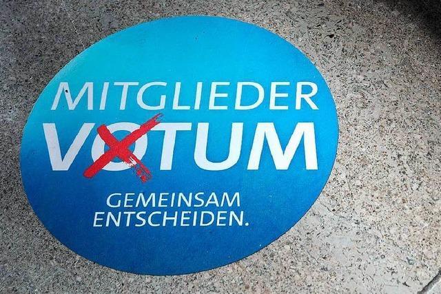 Die SPD und die Mitgliederabstimmung: Hoffen auf die Auferstehung