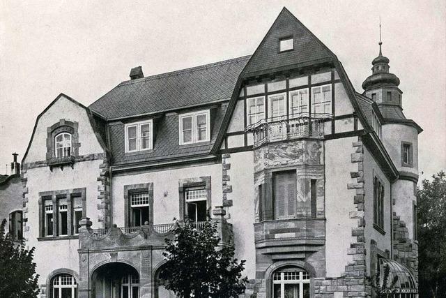 Die Villa Kromer ist einziges Überbleibsel der Schraubenspundfabrik Kromer in Freiburg