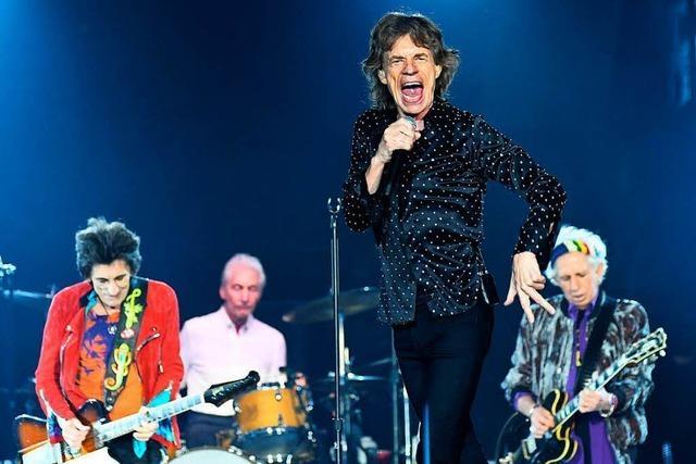 Rolling Stones spielen in Stuttgart und Berlin