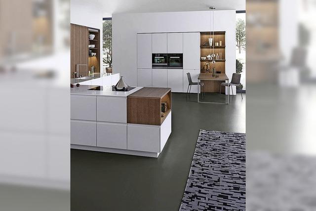 Individuell gestaltete Küche
