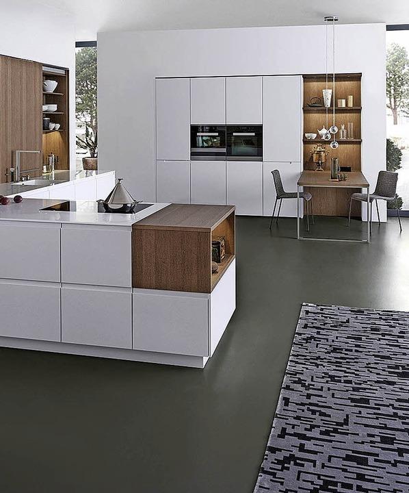 individuell gestaltete k che haus garten badische zeitung. Black Bedroom Furniture Sets. Home Design Ideas