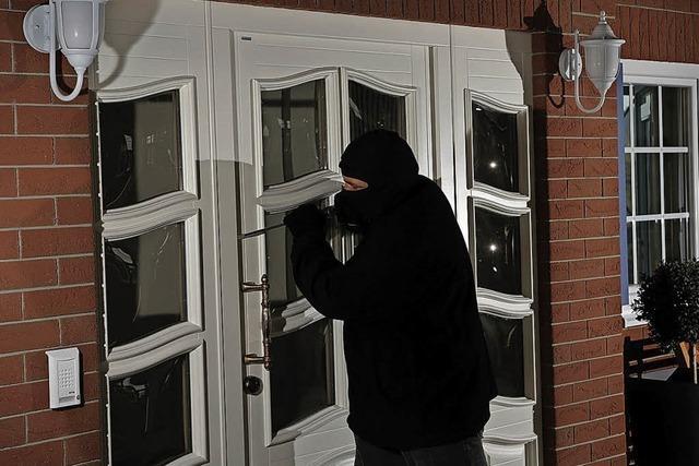 Moderne Haustür schützt vor Einbruch