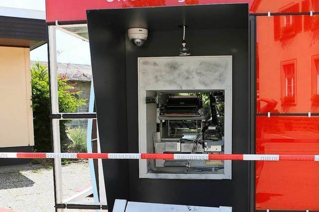 Geldautomaten gesprengt: Die Sulzer
