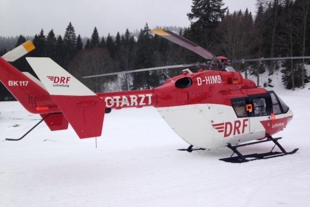 Nach schwerem Unfall am Feldberg – Polizei untersucht Motorschlitten