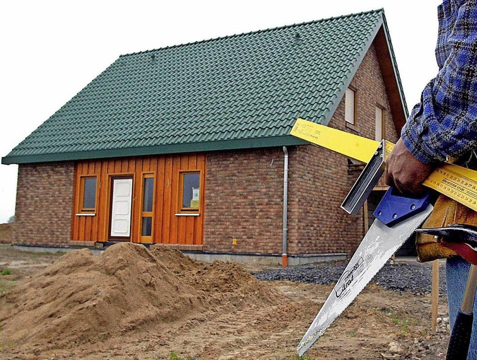 Wie lässt sich flächensparend bauen? U... der SPD in Herbolzheim (Symbolfoto).   | Foto: DPA
