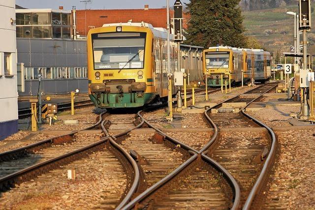 Millionen für Bahnausbau
