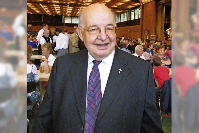 Ehemaliger Stadtpfarrer Eugen Fleig ist verstorben