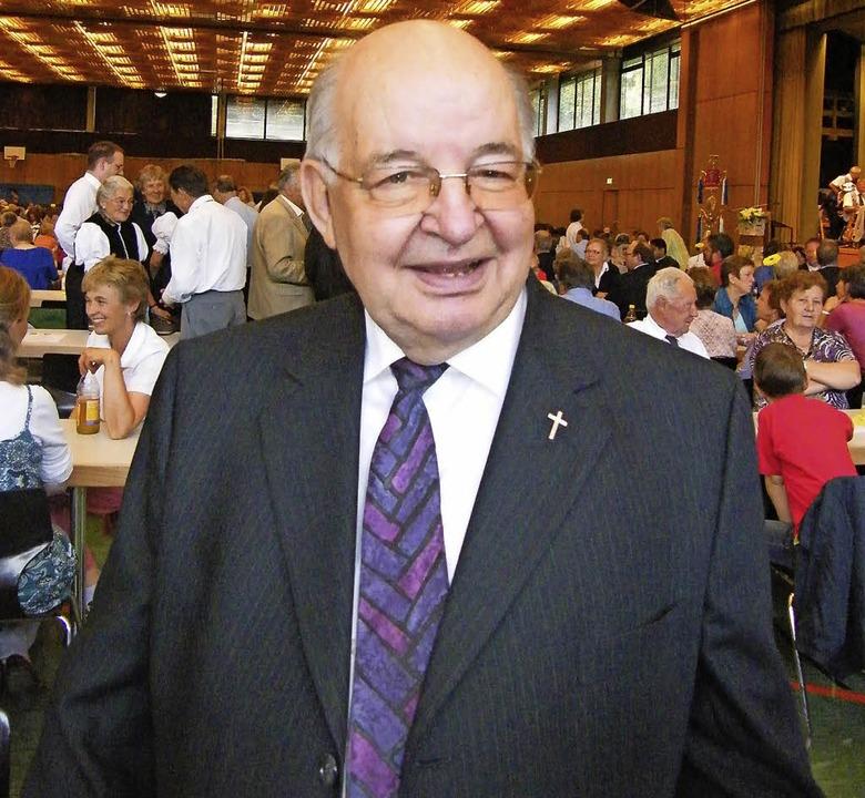 Der ehemalige Bonndorfer Stadtpfarrer,...rb am Sonntag im Alter von 88 Jahren.   | Foto: Martha Weishaar